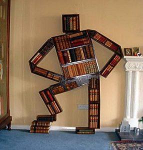 Wenn das Bücherregal mehr ist als nur ein Regal für Bücher ...