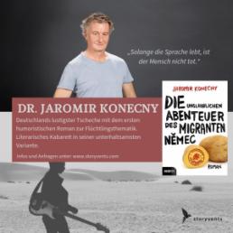Jaromir Konecny Referent Vortrag Migrant Nemec
