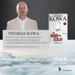 Thomas Kowa Lesung Remexan Vortrag