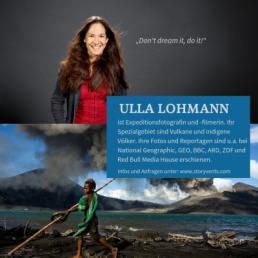 Abenteuer Südsee Keynote Vortrag Ulla Lohmann