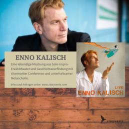 Enno Kalisch Live Vortrag Keynote Lesung Storyvents