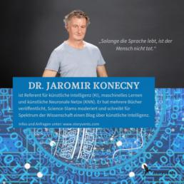 Künstliche Intelligenz, Maschinenlernen, Jaromir Konecny Vortrag buchen