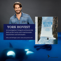 York Hovest Vortrag Keynote Helden der Meere