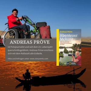 Andreas Pröve Vortrag Abenteuer Mekong