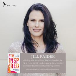 Mit Leidenschaft zum Erfolg Jill Paider Stay Inspired Keynote Rednerin Vortrag Erfolg