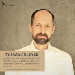 Thomas Bleyer Redner Keynote Achtsamkeit & Meditation für Unternehmer