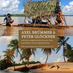 Südamerika querdurch Redner Axel Brümmer Peter Glöckner